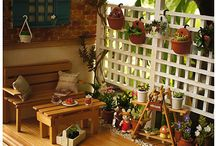 landscaping &flowers in miniature / by Bren Smith