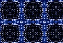 Antique Modern / The Antique Modern collections take us on a spiraling journey through hue's of sapphire blue. Each print has the capability to make a dramatic statement whilst drawing us into a world of curiosity. The designs hold the ability to make you look twice, examining the ornate and intricate details of nature hidden within the complex patterns. The rich indigo's are overwhelmingly seductive – this collection is capable of transporting you into new depths of romanticism.