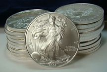 Silver Bullion / Silver bullion coins and rounds are a tangible and secure asset that anyone can afford.  Silver coins and bars provide everyone the security of owning precious metals at an affordable price.  Be assured that silver bullion coins usually sell for a premium over the market price of metal on the commodities exchange.