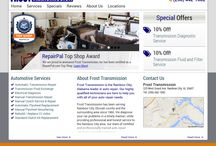 Auto Repair Shop Websites / Auto repair shop website designs