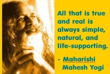 The Quotable Maharishi / Sayings, wisdom, and quotes from Maharishi Mahesh Yogi, founder of Transcendental Meditation / by John Kremer / Pinterest Expert