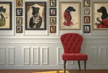 Framing for the Pets / Our pets are our loving four-legged kids. Show them some love with some of these fun framing ideas.