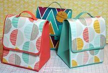 paper schoolbag