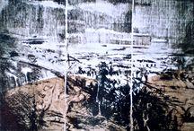 Etchings from You Yangs series 1992