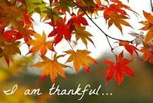 Happy Thanksgiving / What are you most thankful for today?