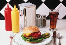 Food: Burgers / Burgers. Veggie burgers. Meat burgers. Comfort food.