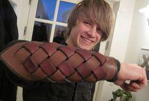 werken met leer  leather