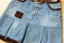 Вторая жизнь джинс, recycling jeans