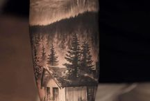 Black and White tattoo / Realistic Tattoo Black and White tattoo