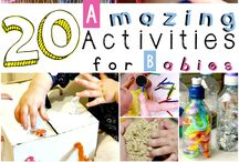 baby activities and life hacks / by Mandy Brandt