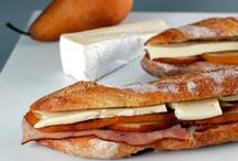 eat: sandwiches + more / by Bouran Qaddumi