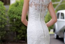 Lace wedding dress / by Belle Novia Vestidos de Novia
