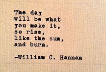 Poems/ quotes