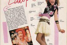 Style: Cyndi Lauper