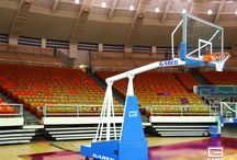 Portable Basketball Hoops / Some of our favorite and most popular portable basketball systems. The hoops on this page are our higher end systems for institutions like YMCAs, schools, churches, and youth groups. Typically customers in these type of youth sports programs will go with a higher quality unit for durability and safety. Call us at 800-543-9020 for questions about your specific use case and we will gladly assist in getting you to the right product for your basketball needs.