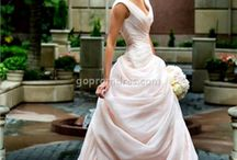 Colour Wedding Gowns