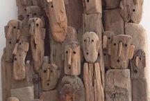 Marine style wood art