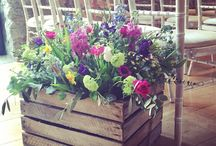 The Flowers / A snippet of all the gorgeous creations our florists bring in each occasion