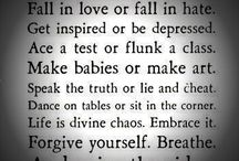 Quotes / by Vicki Groose