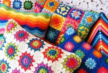 Blankets knit and crochet