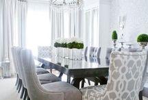 Jantar / Ideias, dicas, truques, organização, decoração e soluções práticas para salas de jantar.