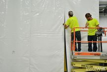 Installation (3 of 3) | InsulWall® | Insulated Warehouse Curtain Wall