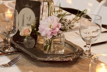 Table centre pieces / Vintage or vintage inspired table centre pieces