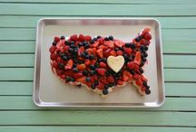 July 4th  / July 4th tablescapes, desserts, recipes, and craft ideas