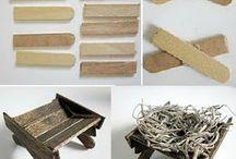 artesanías con madera