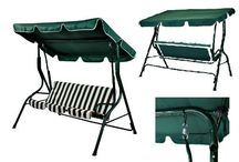 Garden Swing Hammock 3 Seater Patio Chair