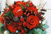 Winter wedding bouquets / Inspiring winter bouquets