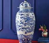 Crushing on Blue Home Decor / Winter blues...check out beautiful blue home decor and get psyched for spring decorating!