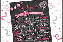 Valentine's First Birthday Party