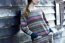 Marie Wallin Sweater Designs / These are the images of my current and previous collections.
