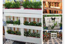 Back porch garden