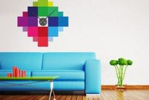 Wall Clock Decals / Always be on time in a fun and decorative way!