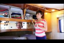 RV Trailer Ideas / Tips for making better use of space.