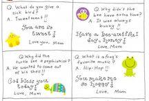 Lunchbox Notes / by Christine Vogensen