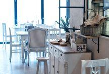 Vintage cafe & office design