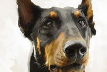 ANIMAL ART! PORTRAITS AND DEPICTIONS OF NON-HUMANS / My favorite examples of fine art showing non-human animals.