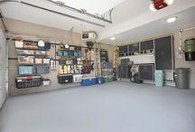 Operation: Organize Garage! / by Rachel Neubauer