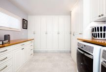 Laundry Rooms / Laundry rooms, mud rooms, wall units, etc. Is there a space in your home that can be enhanced? Valet can help.
