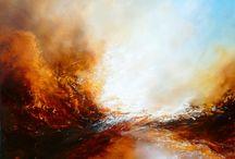 Abstacte schilderijen