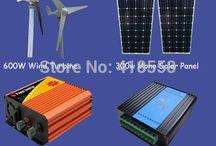 1000w wind solar hybrid system