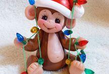 Ornaments / Monkey