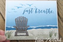 Stampin UP - beach, ocean, nautical
