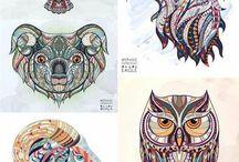 Tatto animal