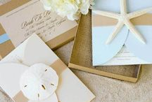 Beach Wedding Invitations / by The Green Kangaroo, Inc.
