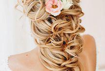 Bruids haar