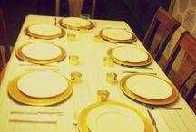 Festa – jantar de aniversário